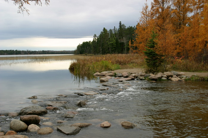 6. Nothing is better than seeing the beautiful Mississippi Headwaters - except seeing the Mississippi Headwaters surrounded by fall foliage!