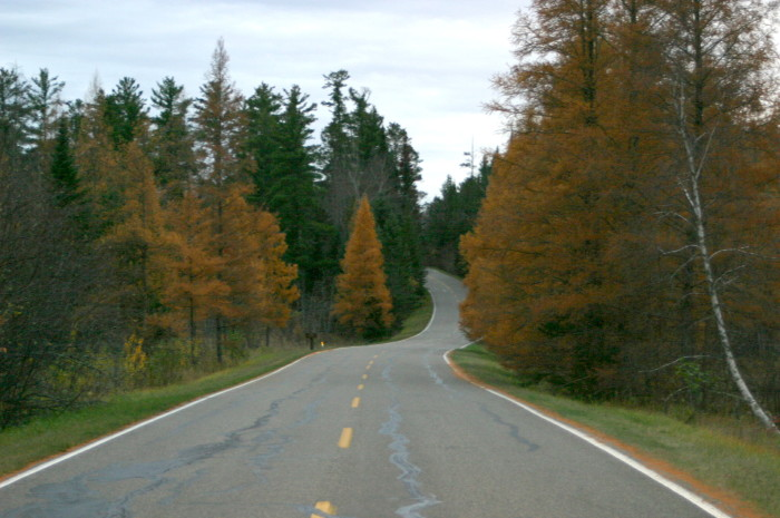 1. Try MN 30 around Itasca State Park for a winding, scenic route.