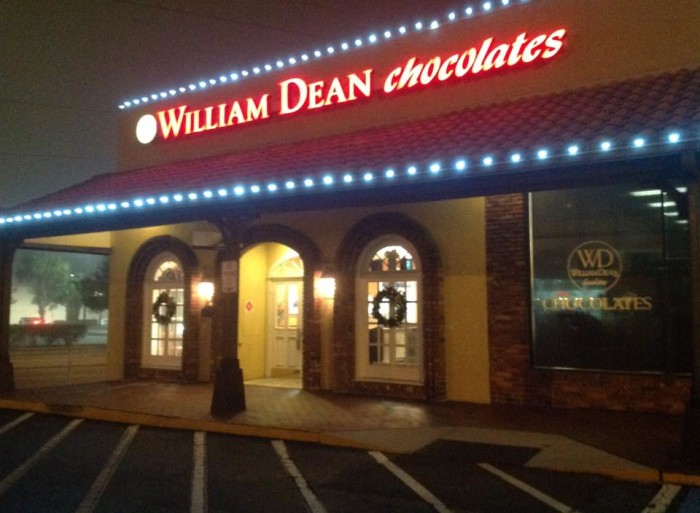 1. William Dean Chocolates