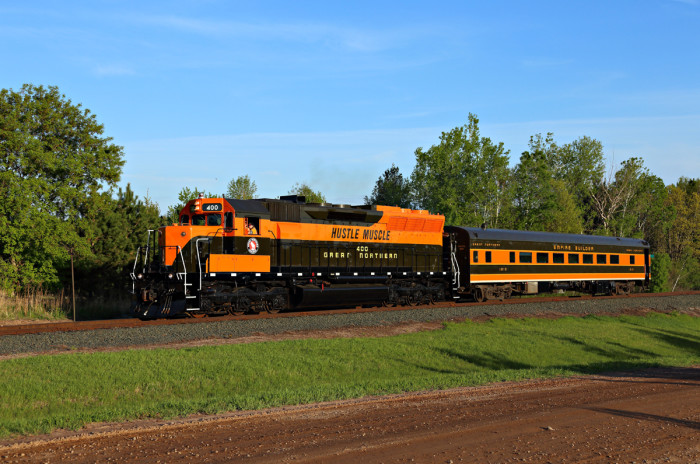 17. Going to Osceola, Wis. following the St. Paul Union Depot! Isn't this beautiful?!