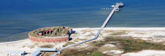 1. Fort Massachusetts on Ship Island