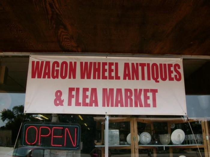 18.Wagon Wheel Antique Mall & Flea Market, Clinton