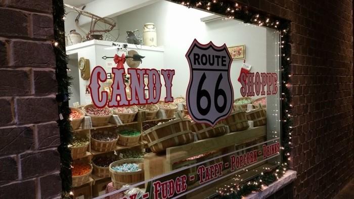 18.Route 66 Candy Shoppe, Waynesville