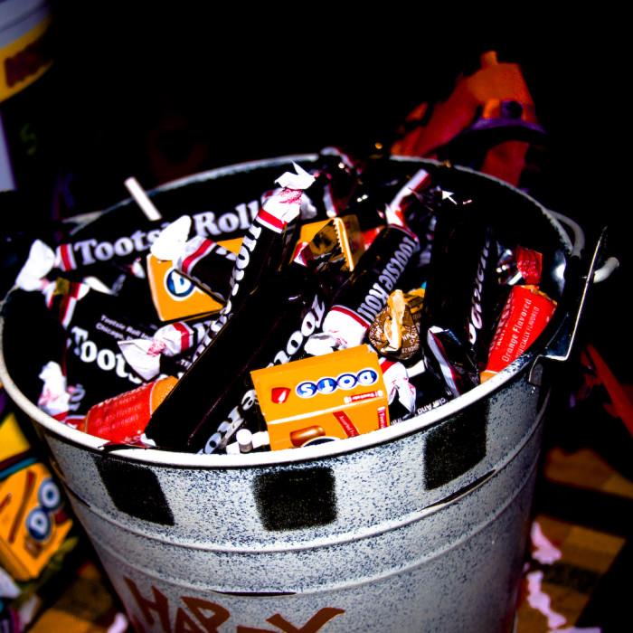 8) Halloween candy!!!