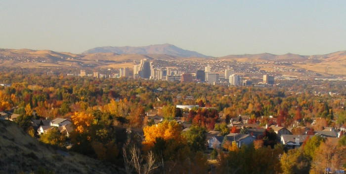 1. Nevada's fall foliage is absolutely GORGEOUS!