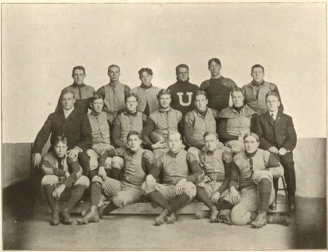 3. University of Utah Football Team, 1905
