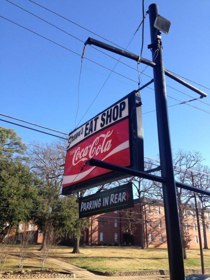 9) Strawn's Eat Shop, Shreveport