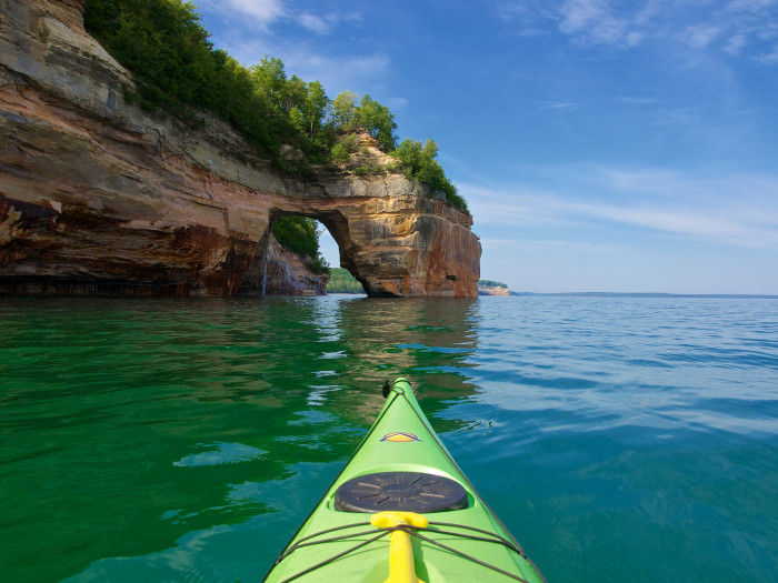 11) Go kayaking in the UP