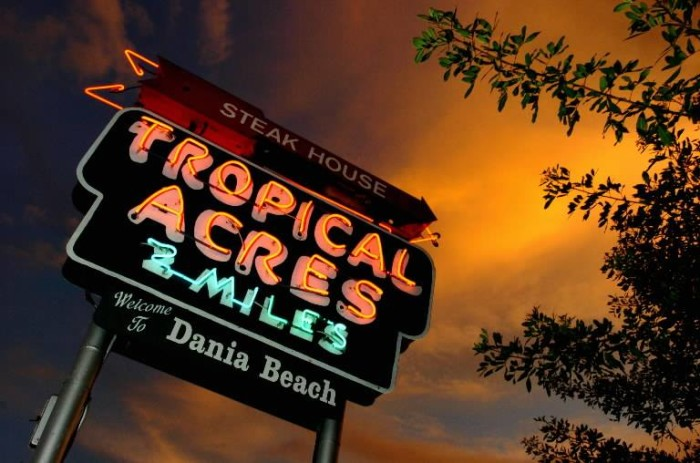 2. Tropical Acres Steakhouse, Fort Lauderdale