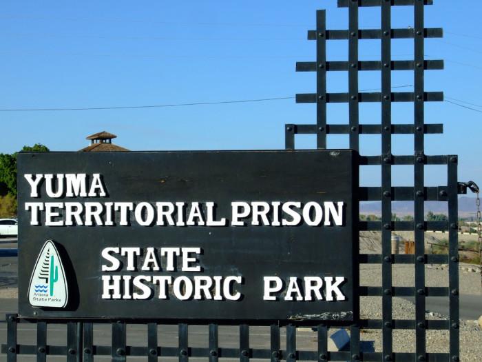 8. Yuma Territorial Prison State Historic Park, Yuma