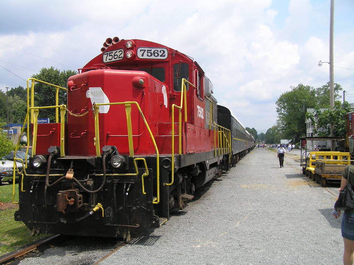 20. Big Red Train in Blue Ridge, GA