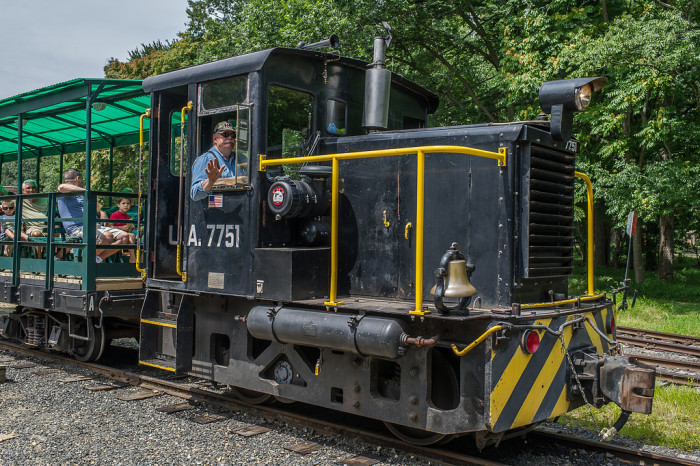 4. Founded in 1952, New Jersey Museum of Transportation's Pine Creek Railroad is one of the oldest operating narrow gauge railway exhibits in the country. Enjoy a ride for just $4!