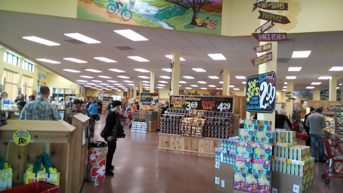 2. T-Minus one month until we're all taking a road trip to the Trader Joe's in KC, MO