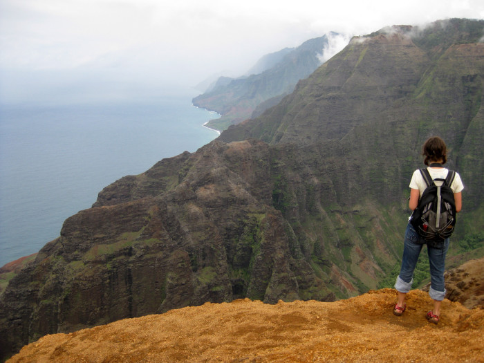 2) ...and rugged trails, like this one in Kauai's Kokee State Park, perfect for adventurers.