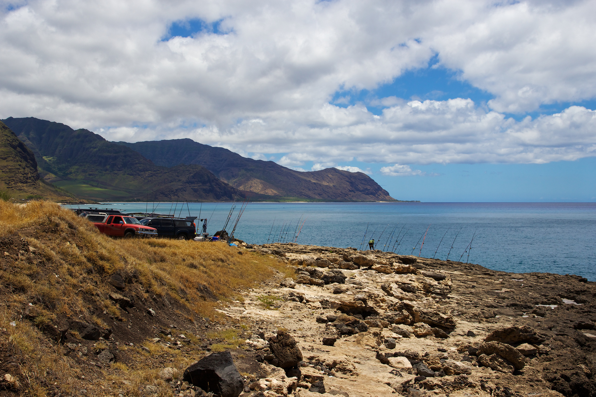 These 12 amazing spots in hawaii are perfect to go fishing for Shore fishing oahu