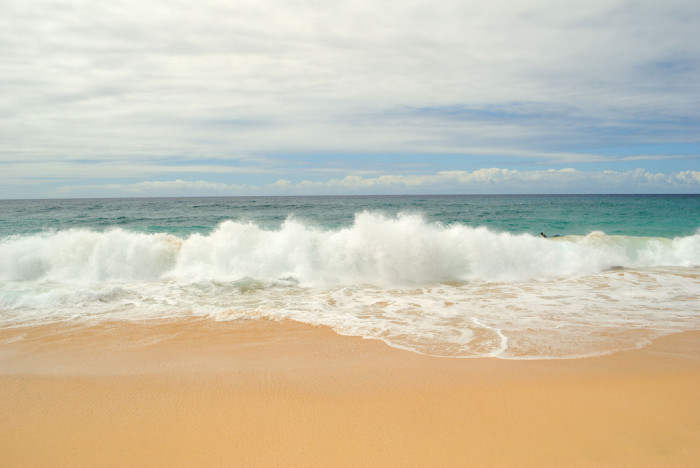 2) Sand, everywhere.
