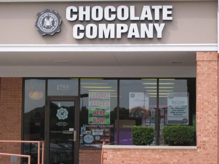 2. Chocolate Chocolate Chocolate Company (many locations)