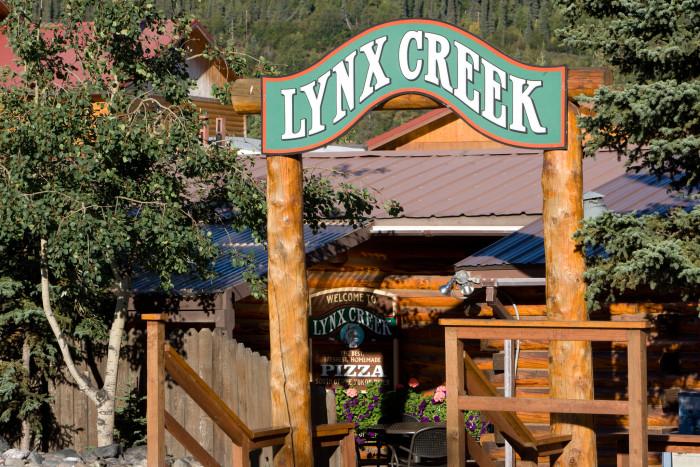 8) Lynx Creek Pizza & Pub in Healy Alaska