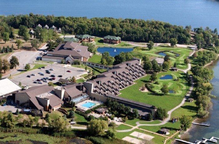 16. A stay at the Arrowwood Resort in Alexandria will let you experience a wide variety of activities from horseback riding to water slides and relax next to the beautiful lakeside scenery.