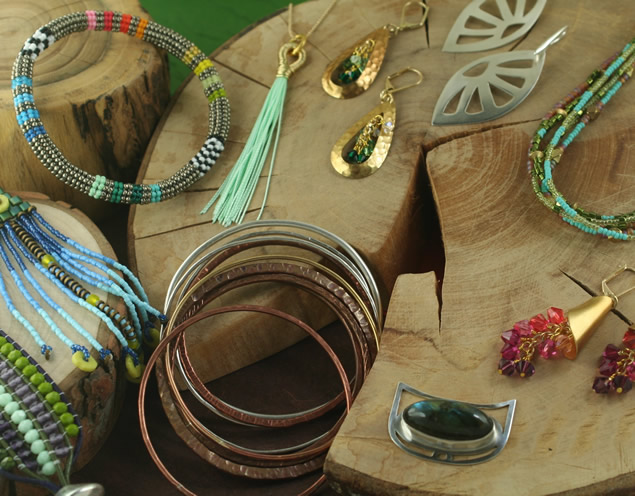 4) Make your own jewelry.