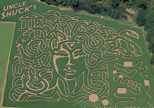 1. Uncle Shucks Corn Maze & Pumpkin Patch - 4520 GA-53, Dawsonville, GA 30534
