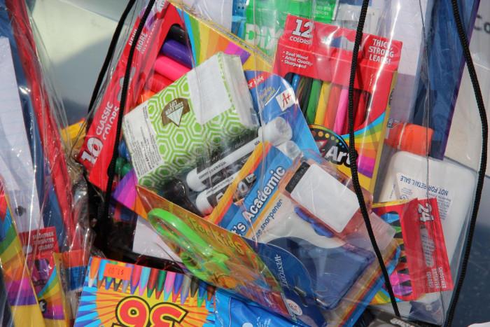 2. Buy school supplies.