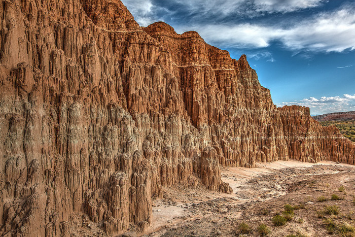 9. Cathedral Gorge State Park