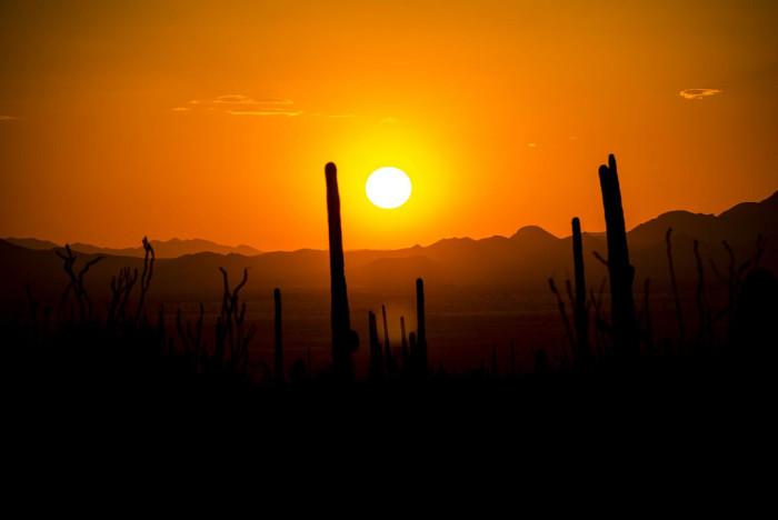 8. Arizona has the best sunsets.