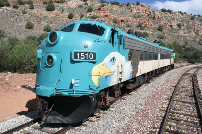 8. Verde Canyon Railroad, Clarkdale