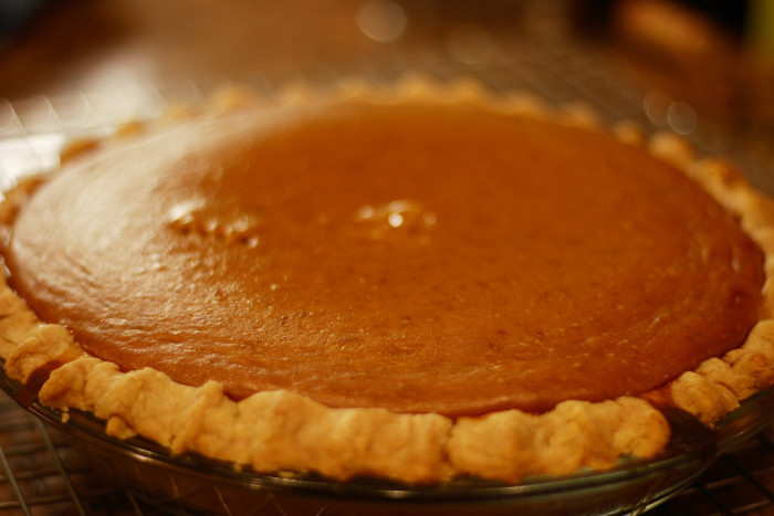 8. Pumpkin pie, sweet potato pie, chess pie, apple pie...