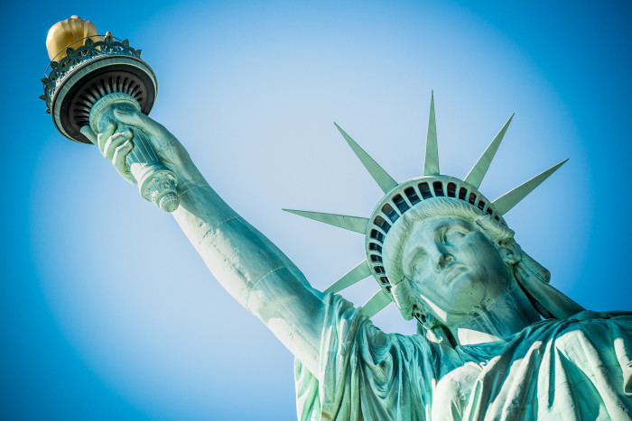 5. The Statue of Liberty is in New York.