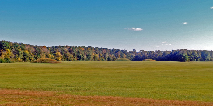 2. The Natchez Trace Parkway is filled with gorgeous scenery that includes unique sites like the Pharr Mounds, located about 23 miles northeast of Tupelo.