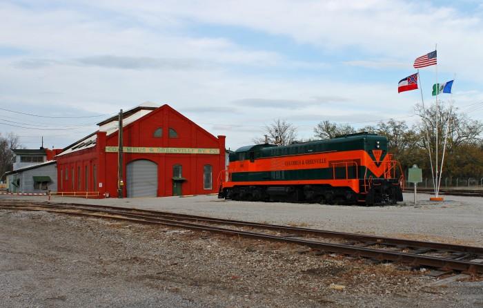 2. Columbus and Greenville Railway Baldwin Road Switcher