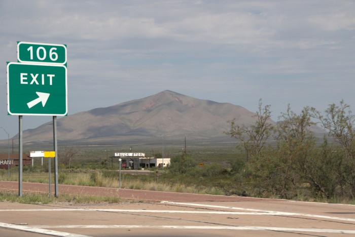 7) Sierra Blanca