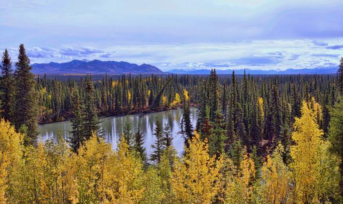 5) Montana Creek State Recreational Site