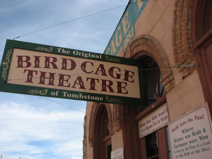2. The Bird Cage Theatre, Tombstone