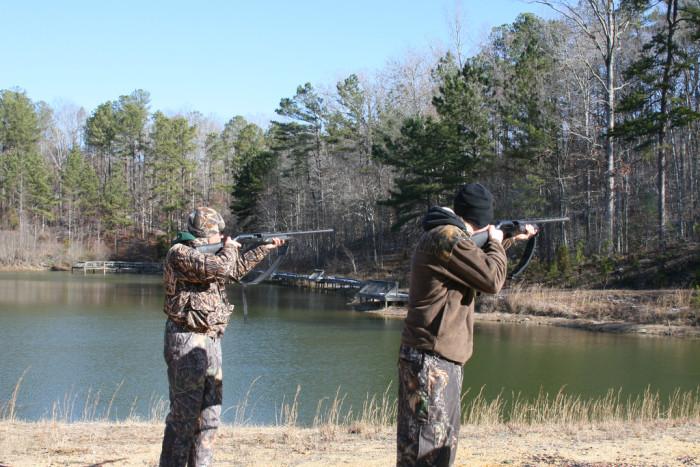 5. Fall brings a variety of hunting seasons.