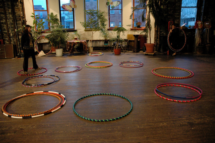15. Hula-hooping is not just for children! It's a great exercise as well as a great way to relieve stress.