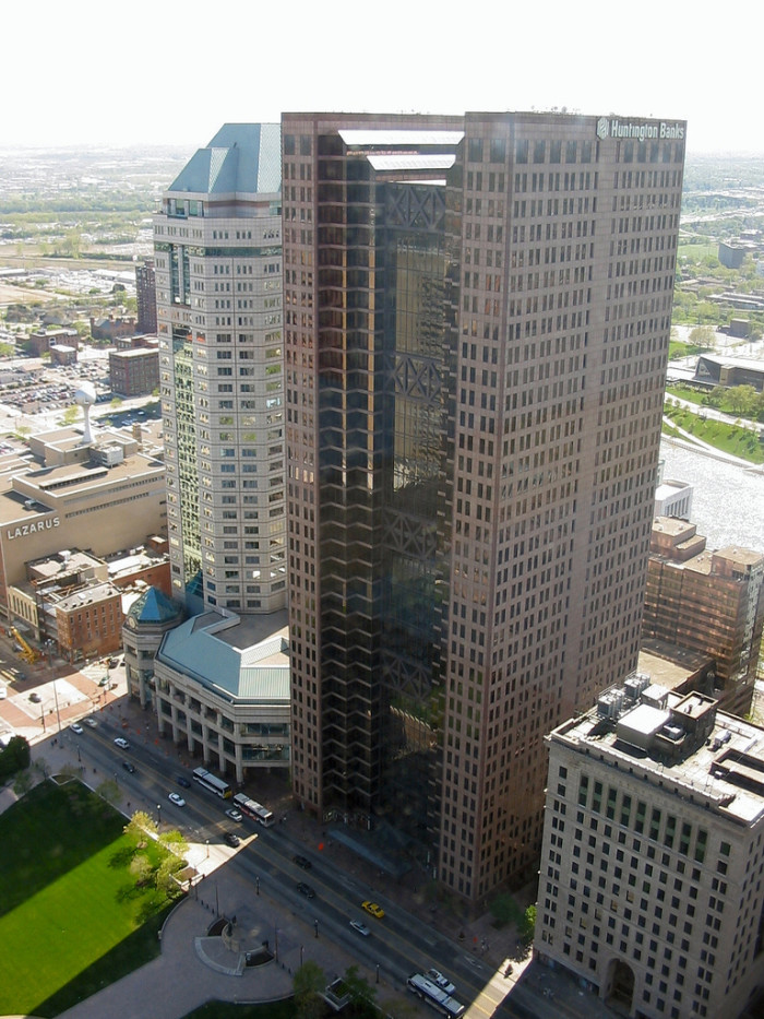 1. James A. Rhodes State Office Tower Observation Deck (Columbus)