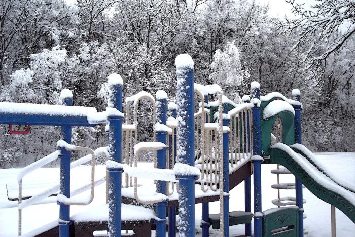 15. Had a snow day! Sledding anyone?