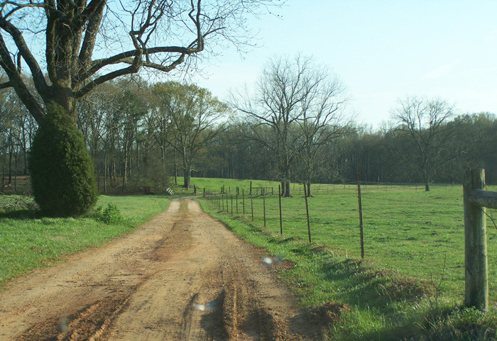 6. A country road in Madison.