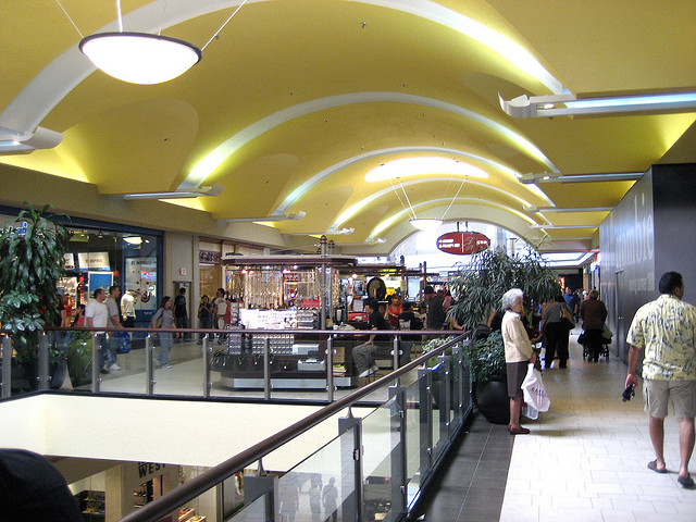 14) Need new clothes or shoes? May as well hit the mall and get a little shopping done!