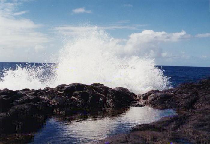 24) The Queen's Bath, on Kauai.
