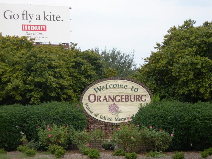 10. Orangeburg