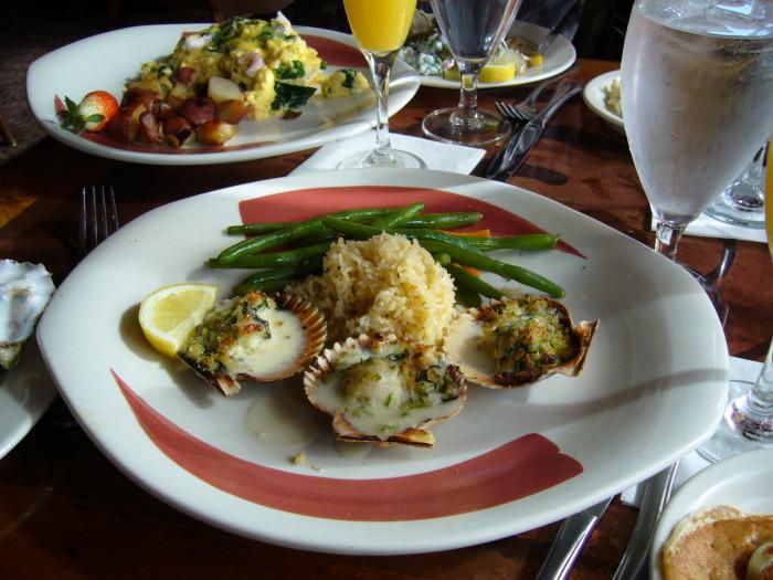 5. Seafood dinner dates in Washington = Heaven.