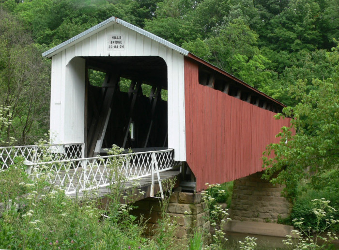 4. The National Forest Covered Bridge Scenic Byway (the SR 26 from Marietta to Woodsfield trip)