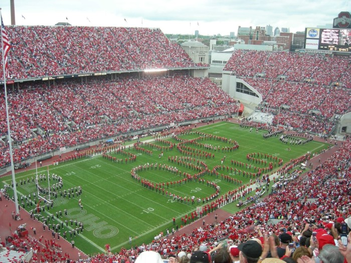 """2. Ohio State has """"The Best Damn Band In The Land"""" and Michigan has, well, a band."""