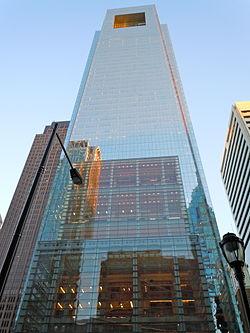 8. The Comcast Center in Philadelphia