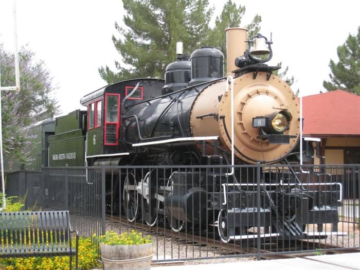 6. McCormick-Stillman Railroad Park, Scottsdale
