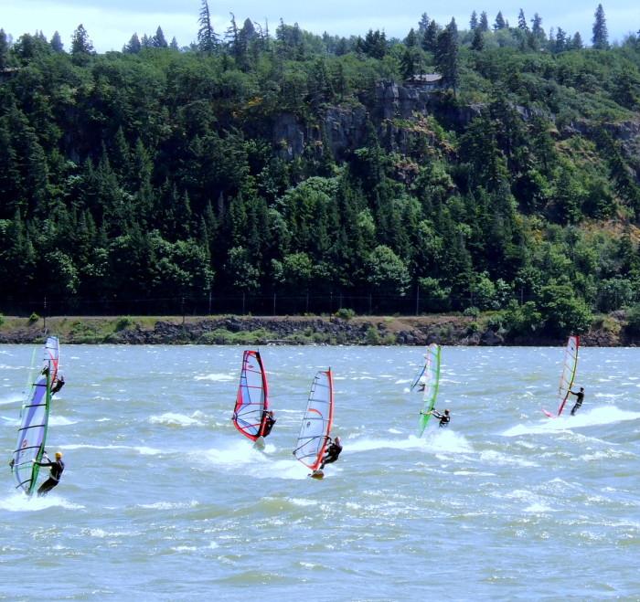 3) Learn to windsurf.